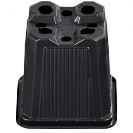 Maceta cuadrada 11x11x12  Negra Termof 1L (85ud) 850cj
