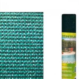 Malla de ocultacion verde (rollo 2x10mt)