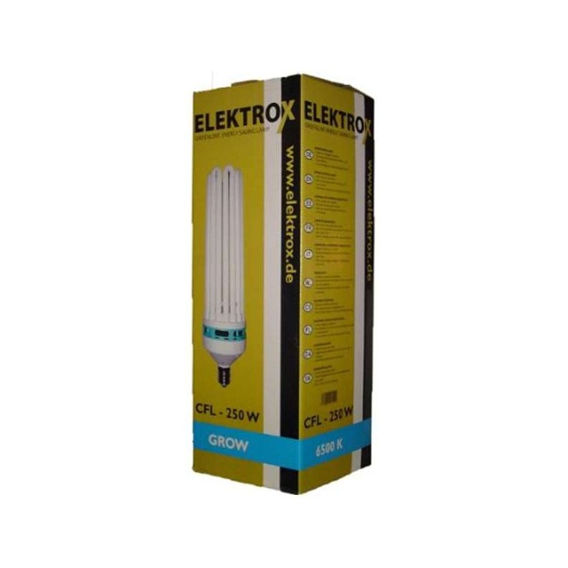 Elektrox CFL 250W, 6500 K, Crecimiento, E-40
