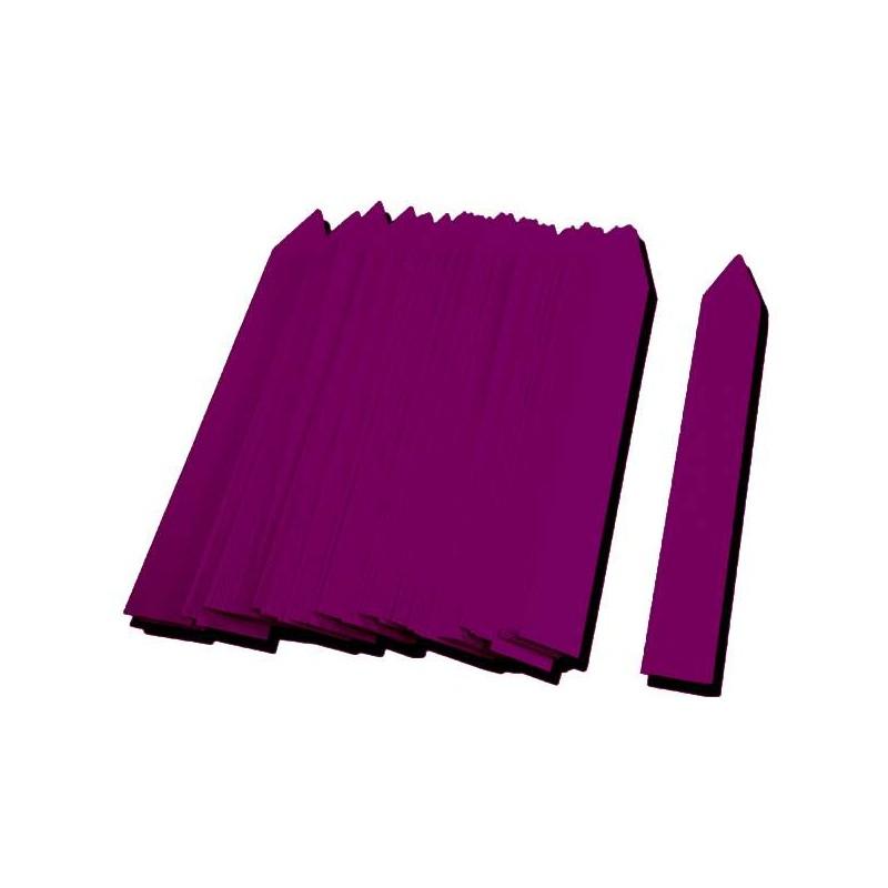 Etiqueta PVC 16x100mm violeta (500uds)