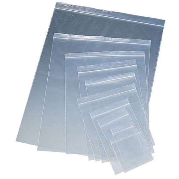 Bolsa cierre transparente 200x300x0,05mm  3L  (100uds)