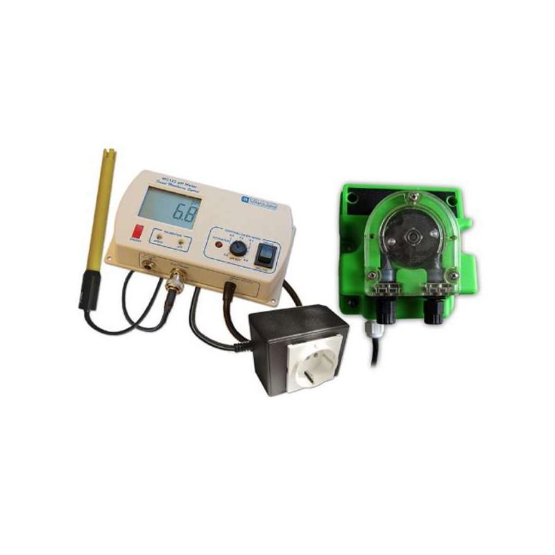 Controlador de pH + Bomba MC720^