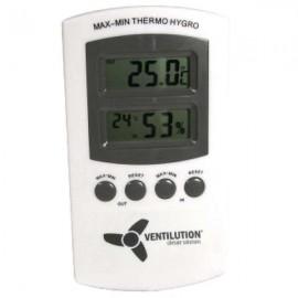 Termohigrometro digital VENTILUTION con un punto de medicion