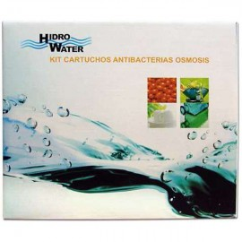 Kit recambio 3 filtros Hidro Water