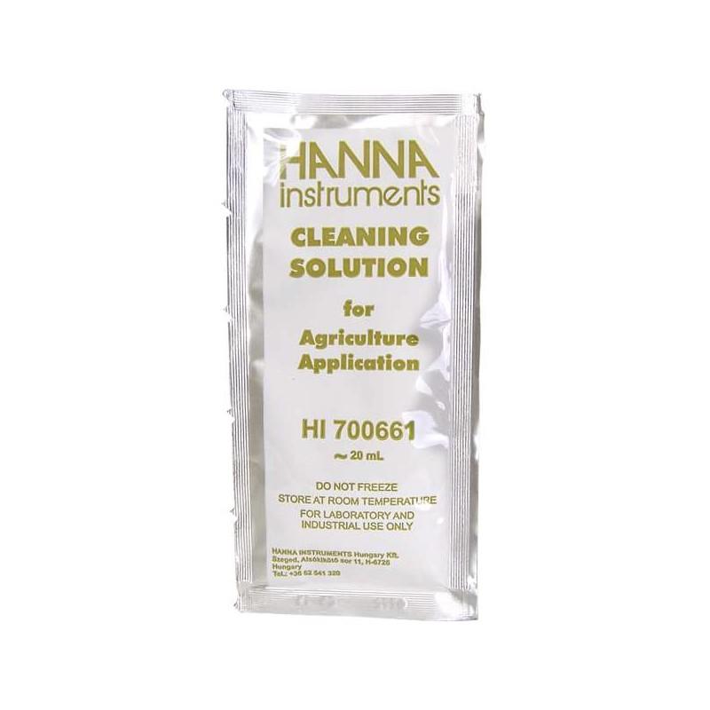 Liquido limpiador sobre 20ml HANNA