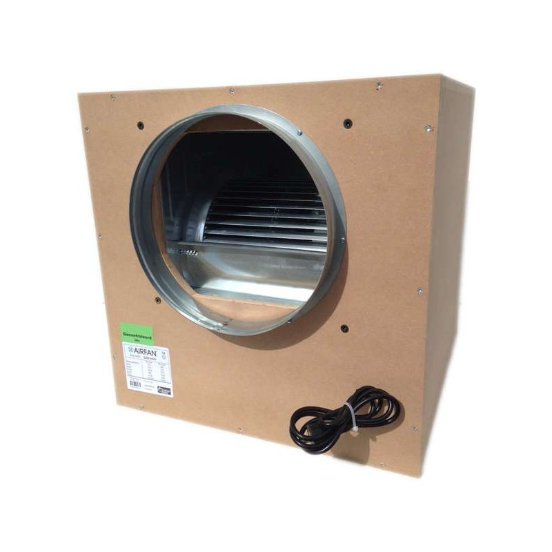 Caja Extr. ISOBOX  mdf 2500m3 2x250/1x315