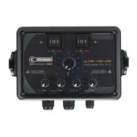 New Controlador Twin Humedad 12+12 Amp