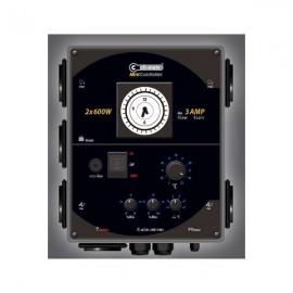 Temporizador de luz y calefaccion, controlador de histeriesis 2 Lamps+3Amp