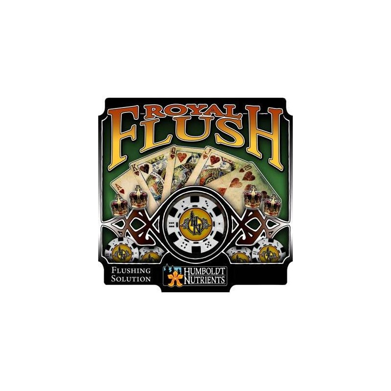 Royal Flush 0,9L. (32oz) Humboldt