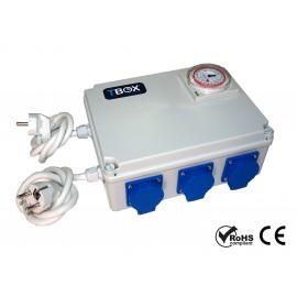 Temporizador electrico 8x600w TBOX
