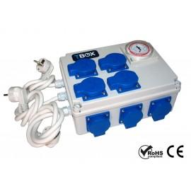 Temporizador electrico 12x600w TBOX