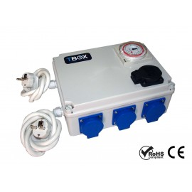 Temporizador electrico 6x600w + heating TBOX