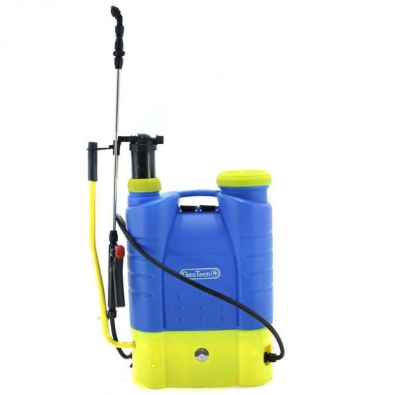 Mochila pulverizadora con lanza Bateria y Manual 16L