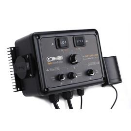 New Controlador Twin vel.min,presion neg 12+12 Amp