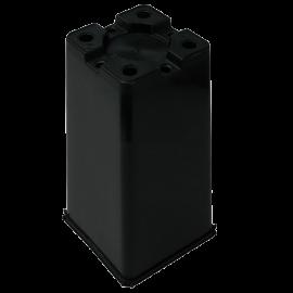 Maceta cuadrada 16x16x23,5 Negra 4L (72ud)