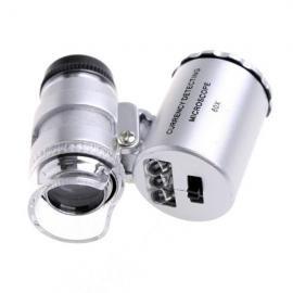 Microscopio LED + Ultravioleta 60X