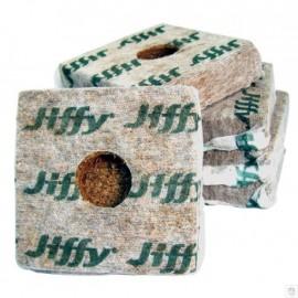 Taco Jiffy Growblock 100x100x65mm (92 caja)